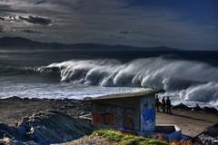 big wave hdr (txokyt) Tags: ocean sea landscape surf extreme wave surfing hdr bigwave zumaia basqueland rocaputa