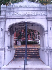 Dr. John Mason Boyd monument