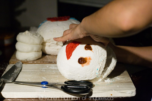 Stay Puft Marshmallow Man birthday cake