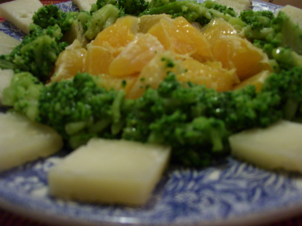 2009-11-03 Arance, broccoli e pecorino 003