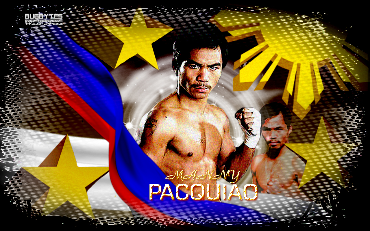New Manny Pacquiao Wallpaper. 7 World Titles in different weight divisions.