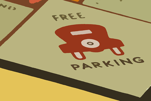 Free parking revisited