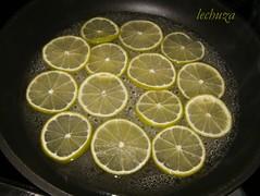 Tarta de queso y lima-caramelizar lima