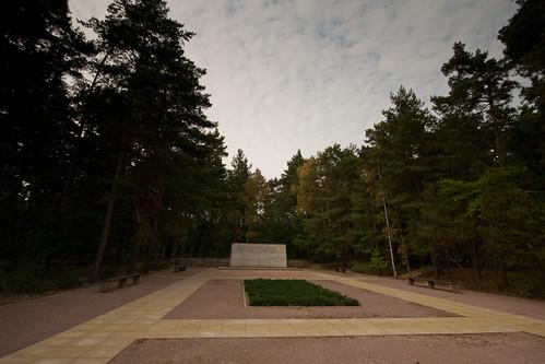 Germany - Dresden Memorial - Heidefriedhof Cemetery - 21 09 09 -10