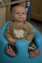 Sitting in the Bumbo