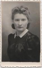 Unknown woman (Krzysztof Lityski) Tags: portrait retro poles oldphotographs