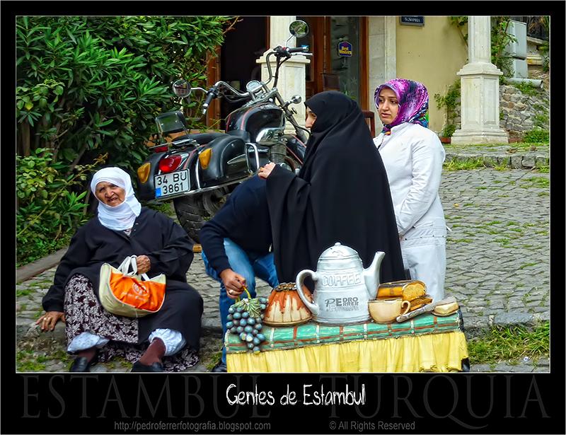 Gentes de Estambul - Venta de te ambulante