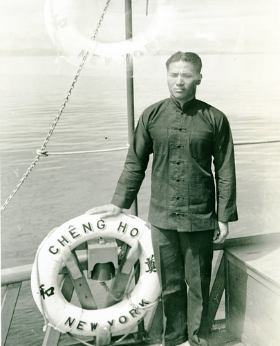 Fan Tai Sing, a member of the Cheng Ho crew