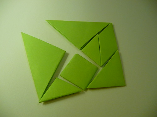 Tangram Set by origami_madness, on Flickr