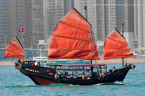 Duk Ling Junk Boat - Hong Kong