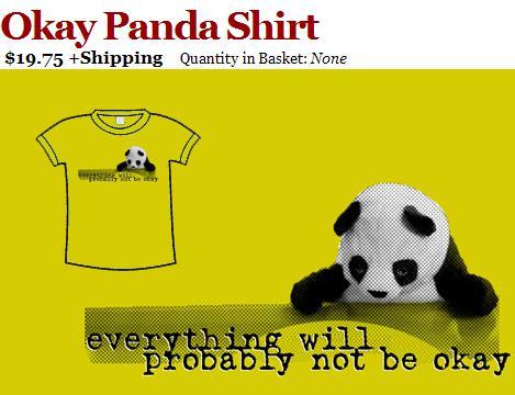 Okay Panda shirt