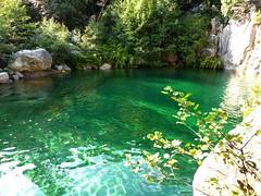 Vasque/cascade dans le ruisseau de Figa Bona (Mela IGN)