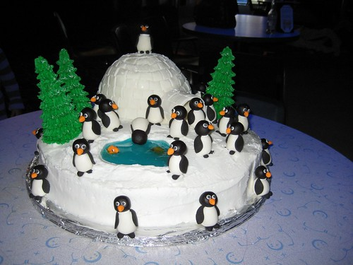 Cake Penguins 2