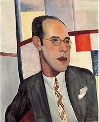 Retrato de Mário de Andrade, por Lasar Segall (1891-1957)