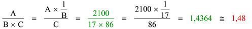 Calcolo regolo 3