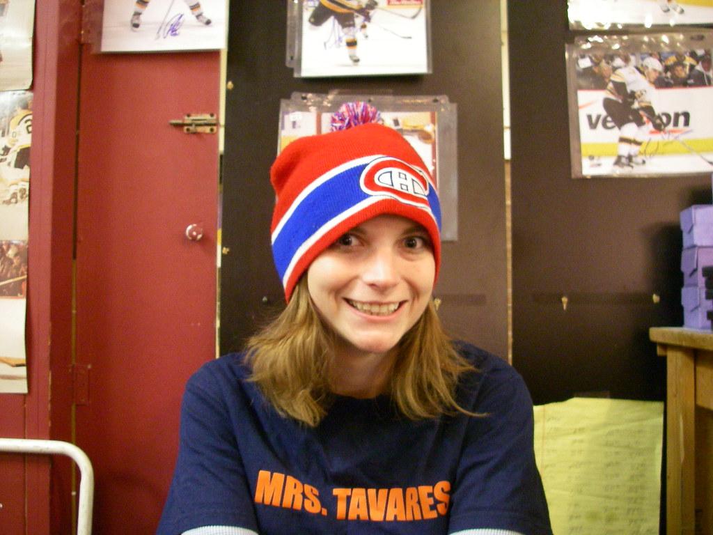 Habs Hat + Tavares shirt