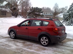 Does Anyone Know A Good Bike Rack For A 09 Pontiac Vibe Gt