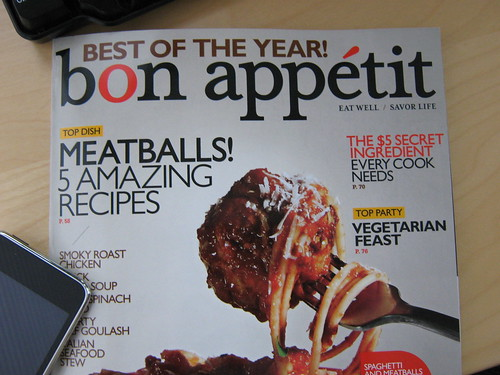 EatRight in bon appetit magazine