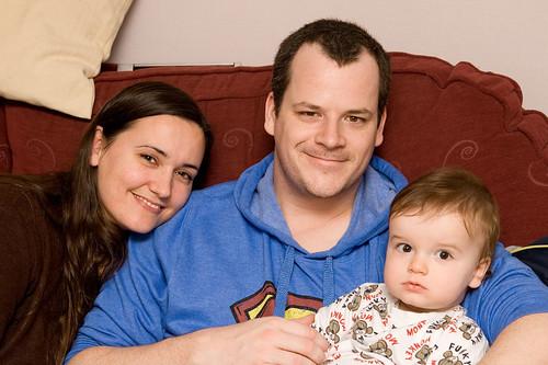 Nicole, Ray & Lucas Robertson