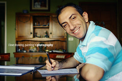 day 2 (Kareem Magdi) Tags: selfportrait canon drawing 28mm 365 project365