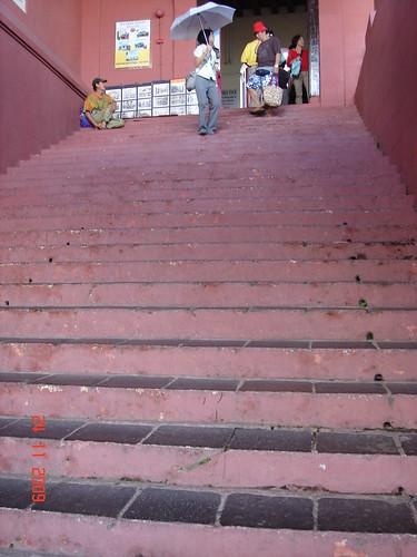 DSC01789 Stairs of Stadthuys, Melaka