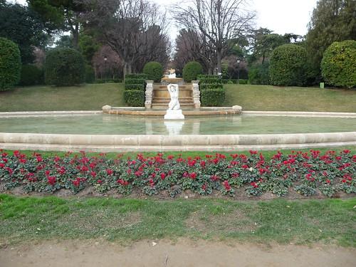 jardin du palais de pedralbes