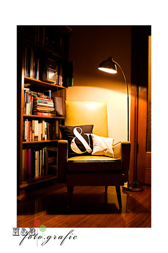 New Chair & Lamp