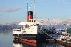 Maid of the loch (Dougie m) Tags: park snow nature water canon scotland photo europe national loch lomond steamer trossachs lochlomond schottland ecosse maidoftheloch instantfave