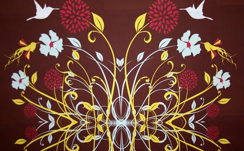 Fabric of the Week: Birds winner