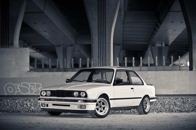 auto bw car bmw 1991 318is