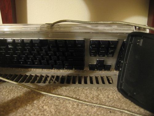 Keyboard vs. Dishwasher - dry