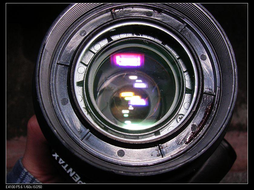 Pentax-F 80-200mm 4.7-5.6前鏡拆解!