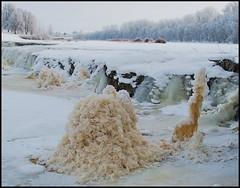 19 (Bargais) Tags: winter ice waterfall rumba latvia venta latvija kuldiga ledus ziema kuldīga ūdenskritums