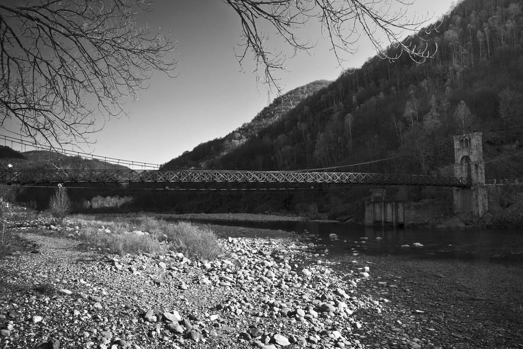 The Bridge over Sesia River
