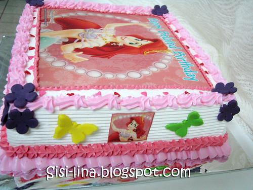 Ariel bday cake
