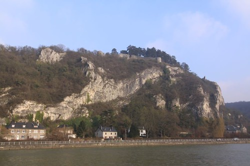 Just north of Dinant...