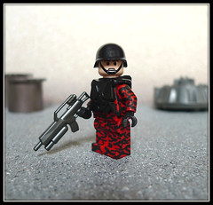 Red Tiger Camouflage (Geoshift) Tags: lego military seal specialforces socom moc callofduty customlego brickarms modernwarfare legomilitary legocustom legocustomminifig