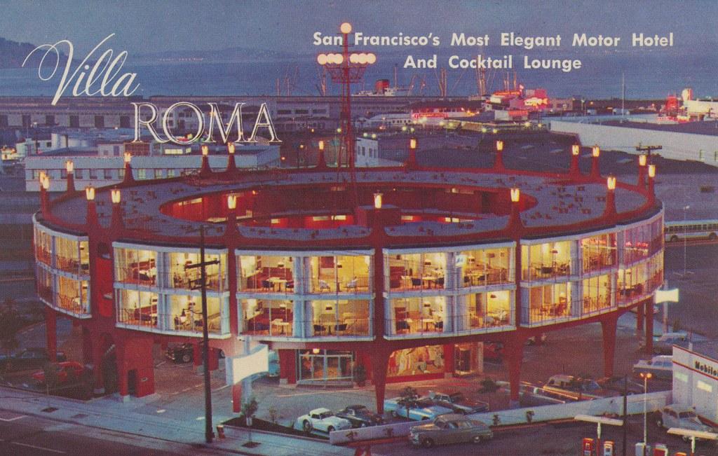 Villa Roma Motor Hotel - San Francisco, California