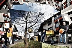Karthause (Collage) (zane) Tags: collage koblenz fussgängerzone kurbis karthause karthausevhs