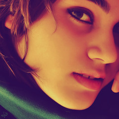 In her eyes...! (BeHiNaZ) Tags: portrait colors girl persian eyes nikon friend elmira her  inmydreams   d90   lmira    sayyedehbehnazhatami