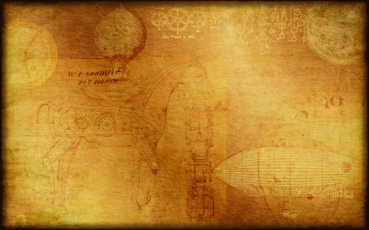 Steampunk Wallpaper/Background