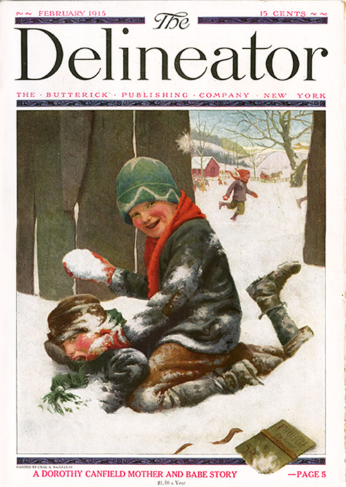 Delineator cover_Feb.1915_tatteredandlost