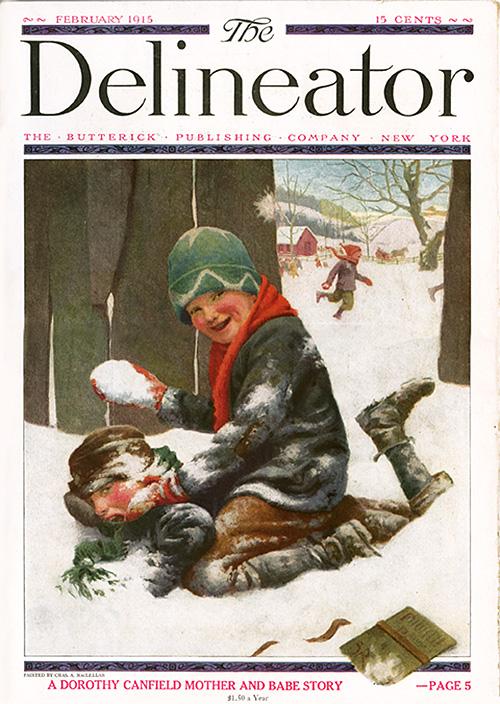 Delineator cover_Feb.1915_tatteredandlost