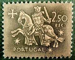great stamp Portugal 250 ctvs 2.50 esc knight (seal of King Dinis / Dionysius / Denis of Portugal 1261-1325) sello bollo briefmarke timbre marka marke knight horse armorial bearings hatchments    Portugal francobolli bollo Portogallo  (stampolina) Tags: old horse portugal vintage postes stars krone tiere ancient stamps flags stamp collection porto knight crown chevalier timbre portuguese postage bilder franco shields caballero stempel revenue philately sterne vis marke selo marka cavaliere sello sellos filatelia sammlung centavos postagestamps briefmarken pulu briefmarke  francobollo fabelwesen escudos selos timbres mythicalcreatures timbre