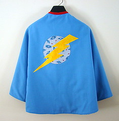 The King of Hearts - Reversible Cape from Sheep in a Heap