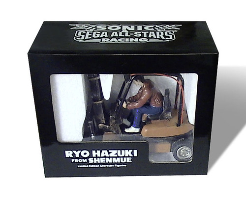 Sonic & SEGA All-Stars Raing - Ryo Hazuki Figure (Front)