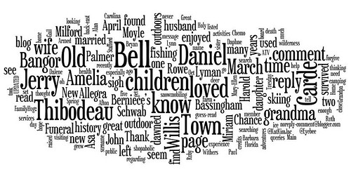 wordle word image of common words on familyhugz.com