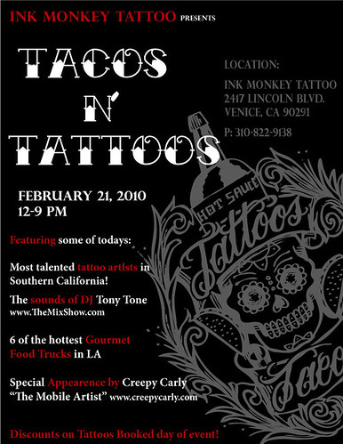 inkmonkey tacos and tattoos