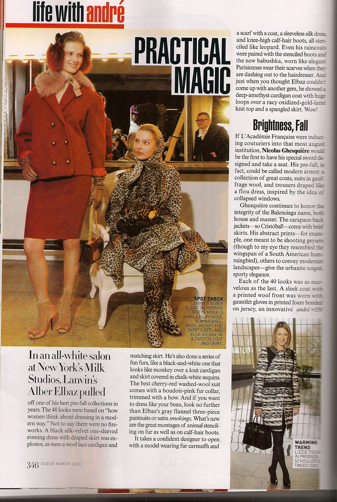 Lanvin preefall Vogue 3:10