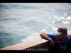 lost in thoughts (Shabbir Ferdous) Tags: blue sea portrait color colour water boat fishing photographer shot natural song bangladesh bangladeshi travelpicture ef70200mmf28lisusm thebayofbengal canoneos5dmarkii shabbirferdous swatchofnoground wwwshabbirferdouscom shabbirferdouscom